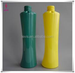 400ML Unique shape Plastic PET shampoo Bottle