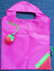 canvas strawberry shopping bag