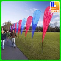 Custom flag international flag fabric with flag pole base