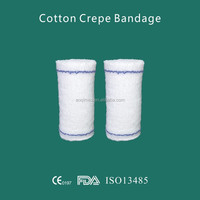 Cotton Fabric Elastic Crepe Bandage from china