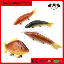 cheap hand carved wooden fish decoration
