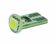 1SMD 5050 LED T10 WHITE INTERIOR DOME LIGHT BULB