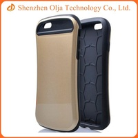 Combo Soft protective shell mobile phone case for iPhone 6 plus