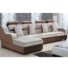 2015 latest sofa living room sofa brown corner sofa u shape corner sofa hotting sale online