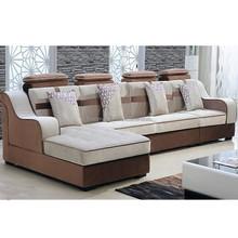 2015 new design sofa living room fabric sofa corner sofa furniture
