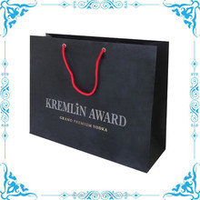 luxury shopping paper bag manufacturer from wenzhou