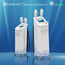 High quality vertical Elight IPL/laser IPL SHR hair removal machine with noble laser OEM ODM service