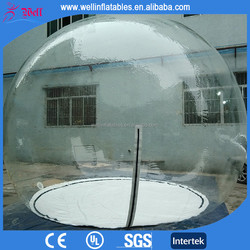 Big wholesale inflatable bubble tent inflatable clear tent