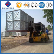 Galvanized water well tanks, Customized hot dipped galvanized steel tank