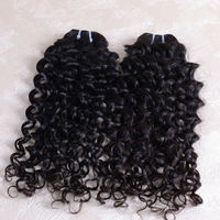 Alibaba Manufacturers 100% Virgin hot indian hair weave 3 pcs 18inch Italian Curl wave