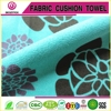 2015 new design printed suede fabric for bag and garment