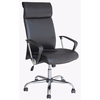 High Quality leather high back armrest ergonomic leather executive office chairs with wheels