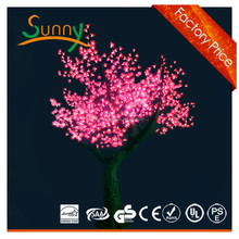 Pink led light cherry tree /Garden decorative artificial cherry blossom tree light