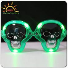 2015 promotion gifts flashing led sunglasses, halloween flashing led sunglasses, music sound activated flashing led sunglasses
