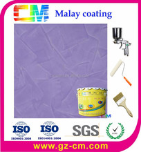 Interior wall coating- acrylic emulsion waterproof mould proof malay paint