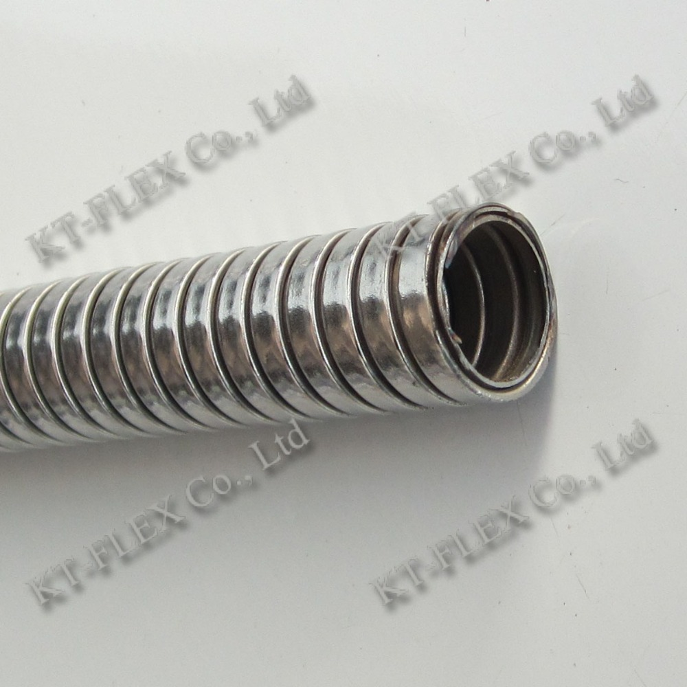 Interlocked stainless steel flexible conduit for cable
