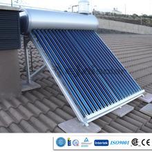 Energía verde 24 horas solar instantánea sistema de agua caliente con CCC CE ISO9001 certificados