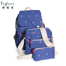 Canvas School Backpack for Student with Multi Design Suitable for Girls