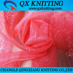 2015 Hot Sale 100% Nylon Tulle Fabric Transparent Fabric