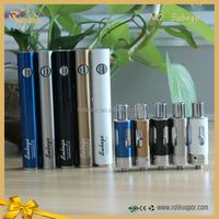 2015 new e cigarette 1600mah subego kit with occ 0.5 ohm head and 0.1 ohm NI200