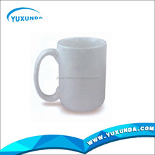 white blank ceramic mug high quality travel mug 3d sublimation blanks