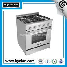 30 inch professional high end gas range hyxion gas cooking range