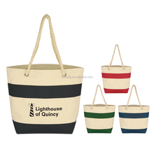 Fashion Lady Canvas Shoulder Handbag Summer Beach Holiday Tote Bag Shopping Bags
