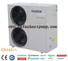Hiseer 13kw evi all in one air source heat pump manufacturer