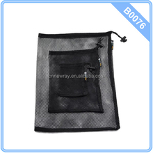 Bluecell Set of 3 Large mediumsmall Size Mesh Storage Ditty Bag for Travel & Outdoor Activity