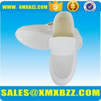 Cleanroom esd safety shoes white for man and woman