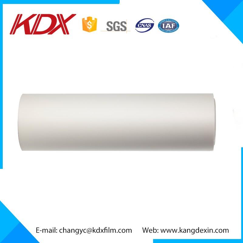 Self adhesive filme plástico bopp película térmica da laminação de bopp fosco filme fosco bopp feita