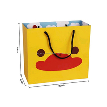 Die Cut Handle Paper Shopping Bag