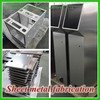 Procduct the high quality aluminum sheet metal fabrication/steel fabrication