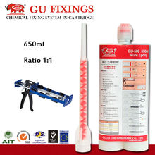 GU-500 seismic applications two part construction epoxy grout