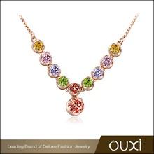 2015 Hot sale wedding Bridal jewelry set with AAA zirconia stone necklace