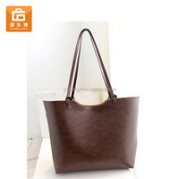 Women Faux Leather Tote Bags