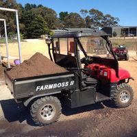 4wheel snowmobile 1000cc diesel engine dump truck for sale