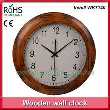 2012 Fashion art & craft wooden round clock