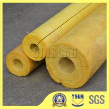 fiber glass wool pipe/high quality flexible duct pipe glass wool flexible duct pipe glass wool