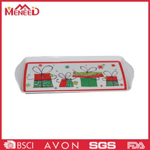 First grade gift design melamine christmas display tray