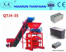 Siemens motors QTJ4-35B2 easy operation machine for bricks blocks vibration method