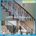 Barandilla de hierro porche delantero/hierro barandillas para escalera de interior/barandilla de la cubierta