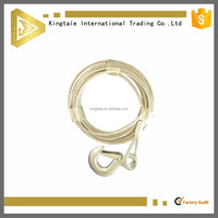 pvc coated stainless wire rope sling