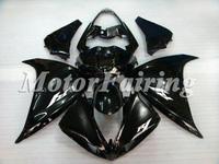 for yamaha yzf 2009 r1 2010 r1 fairing kit 2010 r1 bodykit 09 r1 10 yzf 1 10 r1 09 r1 motorcycle R1 09-10 bodykit all black