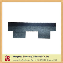 Ink Grey Fiberglass Goethe Asphalt Roofing Shingle