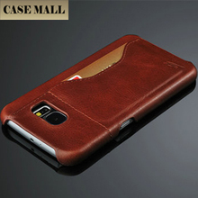 for Samsung Galaxy A7 Real Leather Case Wallet Style Flip Stand PC+PU Leather Phone Cover Case for Samsung Galaxy A7
