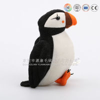 Plush bird toy soft parrot for promotion