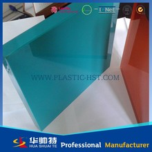 different thickness and color cast pmma plate