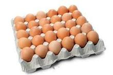 White and Brown Fresh Chicken Eggs