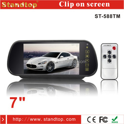 Digital Screen 7 Inch Car Mirror Monitor For Parking And DVD/VCD input From Standtop of China Market